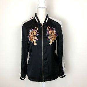 H&M Jackets & Coats - H&M Tiger embroidered jacket
